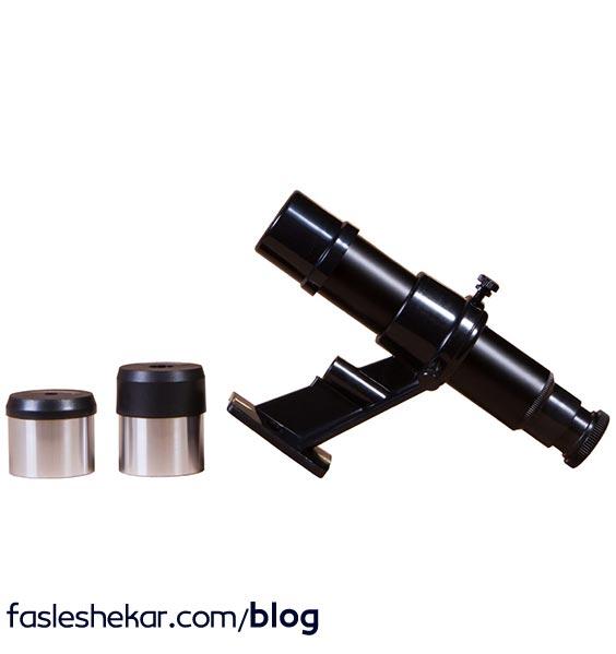چپقی و چشمی تلسکوپ