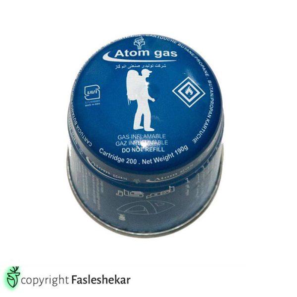 کپسول یکبار مصرف اتم گاز