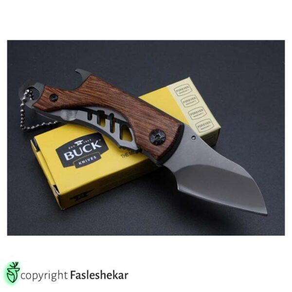 چاقو تاشو باک x65