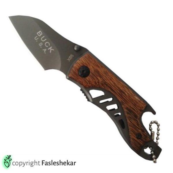 چاقوی تاشو باک x65